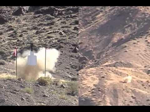 Long Range Shooting: 1-Mile Hits w/target cam