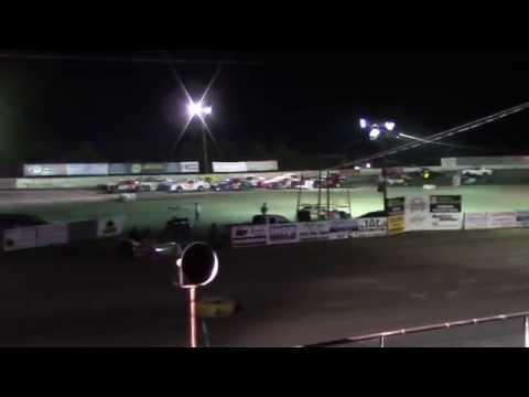 Brandon Edgil 55 - Feature Race - Fireworks 500 2013 Grayson County Speedway