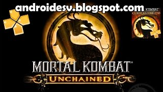 Mortal Kombat Unchained Para Android [PPSSPP GOLD] [ISO] + Configuraciones [HD] 2015