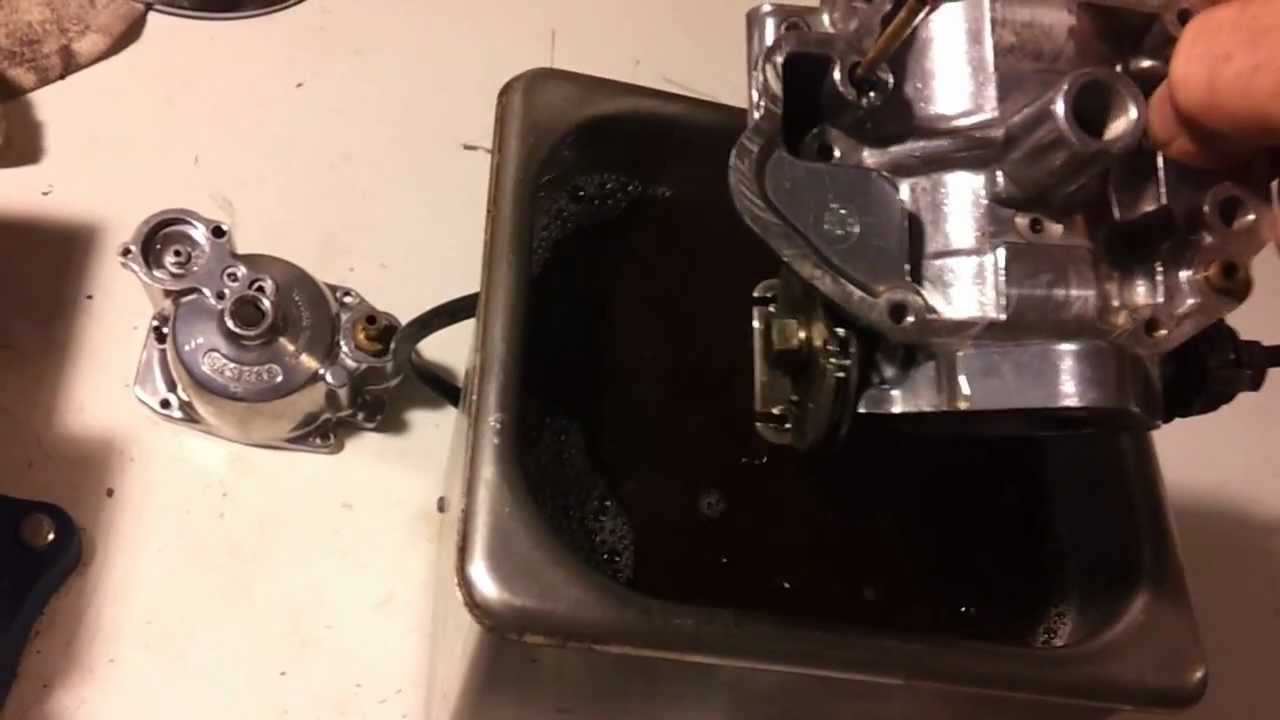 Harley S S Carb Cleaning Youtube