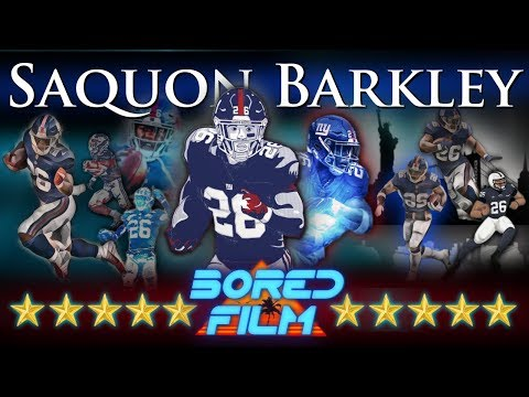 Saquon Barkley - Career Retrospective (Rookie of the year)