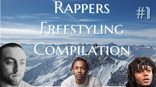 Rappers Freestyling Compilation #1 Ft. Kendrick Lamar, Mac Miller, and J.I.D.