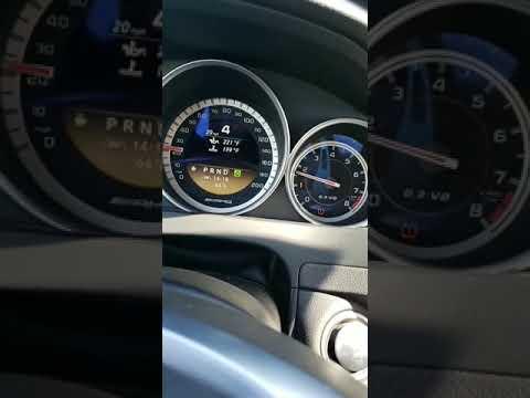 Europ car MERCEDES Benz m156 w204 c63 2012 amg coupe rpm jerking problems