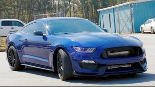 850 HP TWIN TURBO Shelby GT350 Review - 8PSI For 800HP?!