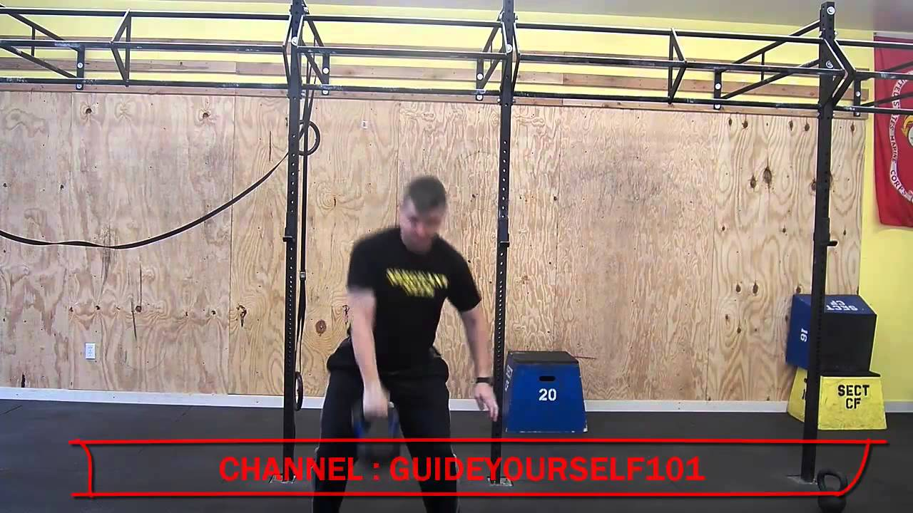 Kettlebell Workout Clean Tutorial | Kettlebell Clean Form ...