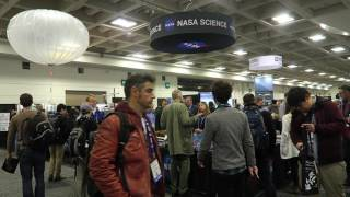 NASA Science On Display at American Geophysical Union Meeting