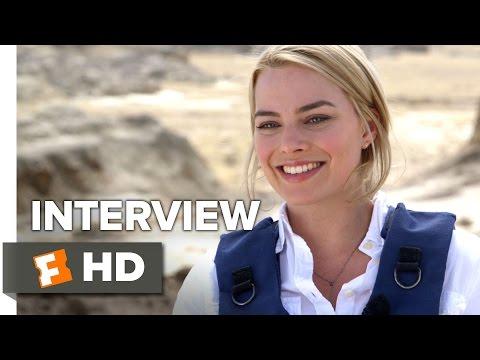 Whiskey Tango Foxtrot Interview - Margot Robbie (2016) - Movie HD