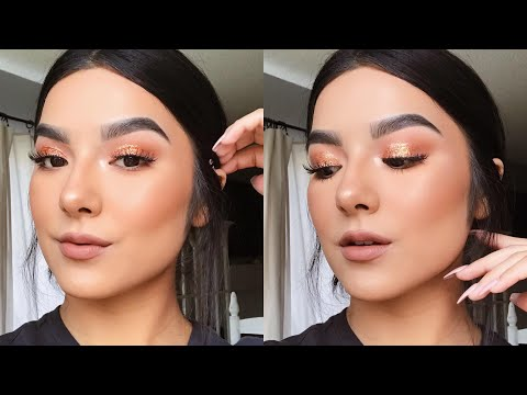 GLITTERY FALL MAKEUP LOOK! | Faye Claire