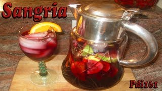 Sangria ... For Halloween? Yes!