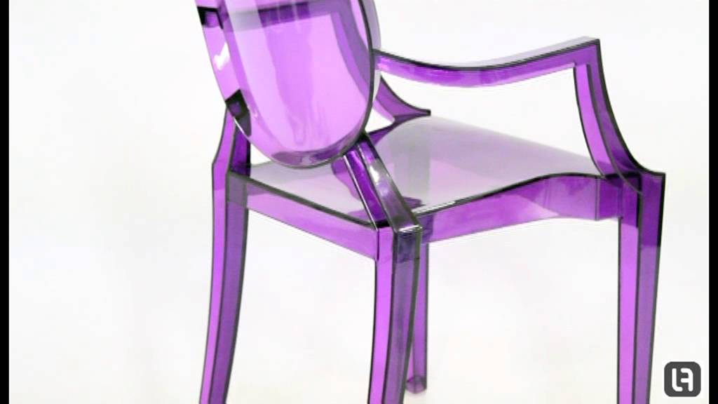 Superieur Philippe Starck Style Louis Purple Ghost Chair