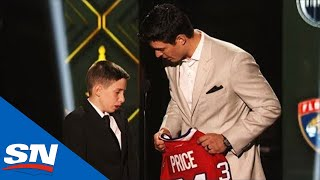 Canadiens' Carey Price Surprises Young Fan At NHL Awards