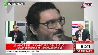 ENTREVISTA | A 25 años de la captura del siglo con el Gral. PNP Remigio Hernani