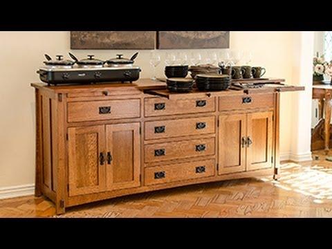Ordinaire Barn Furniture   Amish Mission Server Buffet