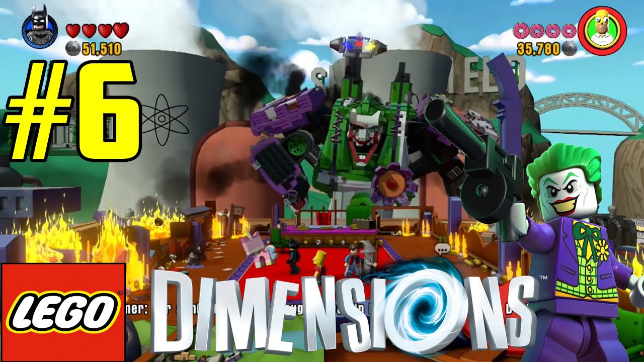 lego dimensions family gameplay part 6 the joker boss. Black Bedroom Furniture Sets. Home Design Ideas