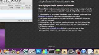 HOW TO SET UP A MINECRAFT SERVER (Mac) (EASY)