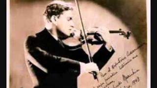 J.S. Bach Chaconne - Yehudi Menuhin 1956