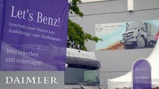 Let's Benz!   Bewerberwoche im Mercedes Benz Werk Wörth