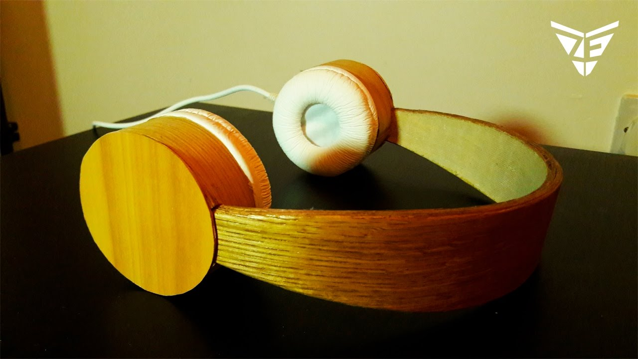 How To Make Wooden Headphones You