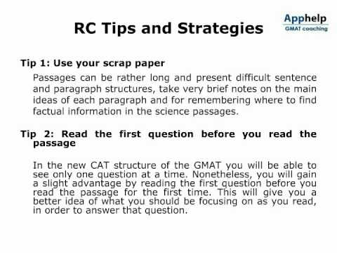 93gmat Reading Comprehension Video Lecture, Online Training