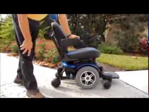 quantum wheelchair table and chairs jazzy 600 power chair by pride mobility - youtube