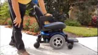 Jazzy 600 Power Chair by Pride Mobility