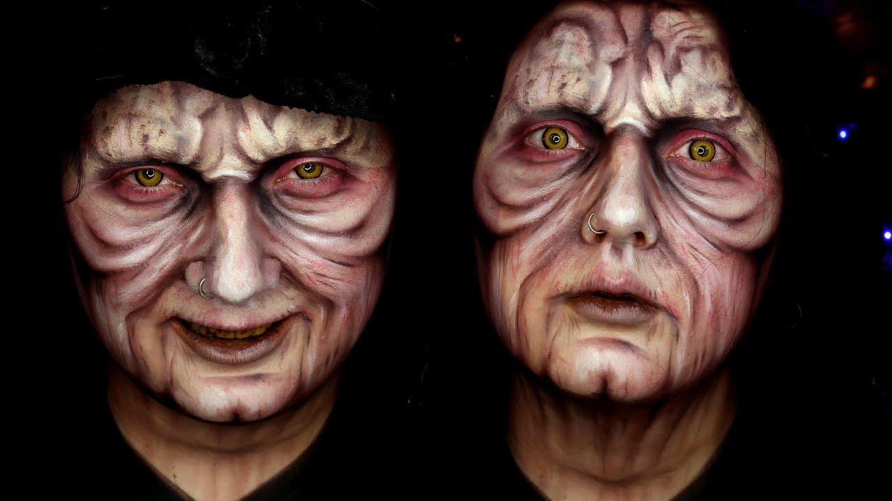 Anakin Skywalker Face Paint