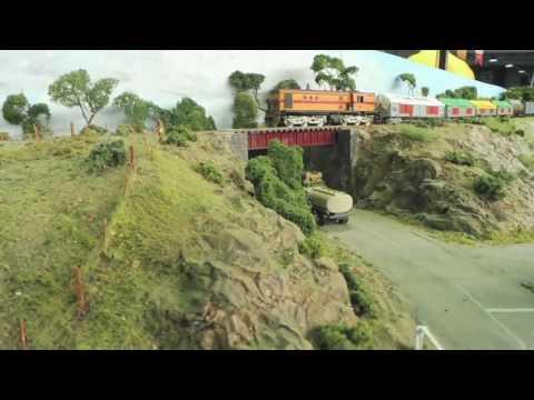 Adelaide model railway exhibition 2017