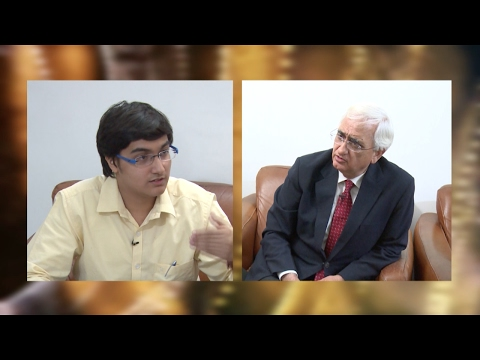 Vedants exclusive interview with Salman Khurshid