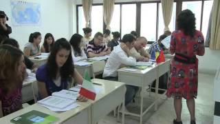 Урок китайского в Шэньчжэньском университете. Обучение в Китае