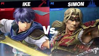 Square Up #2 Winners Finals: Yosefu (Simon) Vs. Magebreaker (Donkey Kong, Ike, Snake)