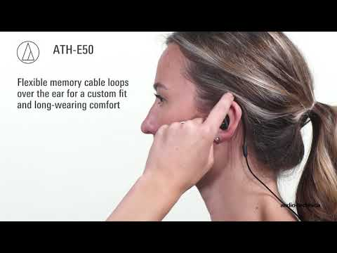 ATH-E50 Overview | Professional In-Ear Monitor Headphones