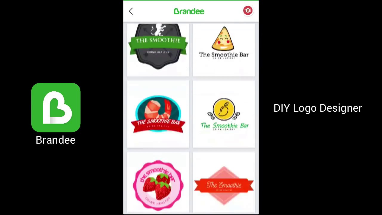 brandee free logo maker free diy logo creator for android ios
