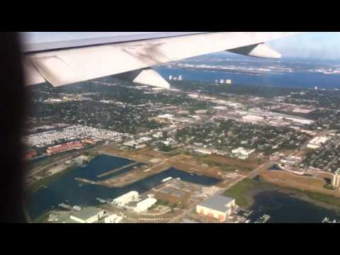 British Airways flight Boeing 777 into Tampa Florida