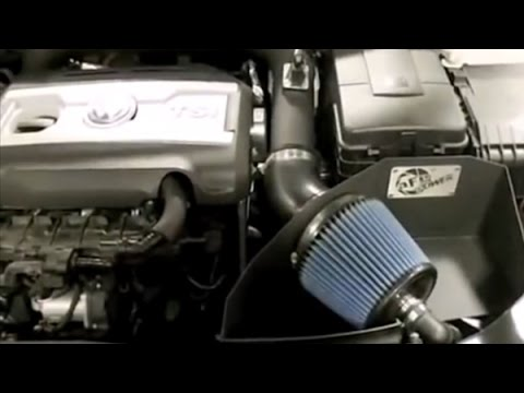 AFE Stage 2 Cold Air Intake System Installation on Volkswagen Golf GTI - YouTube