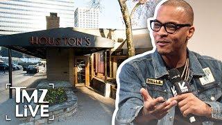 T.I. Enraged After Violent Houston's Arrest | TMZ Live