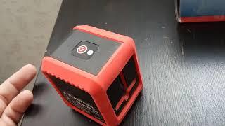 Лазерный нивелир Condtrol smart 2D. Обзор.