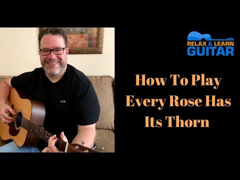 How to Play Every Rose Has Its Thorn-guitar lesson 2018