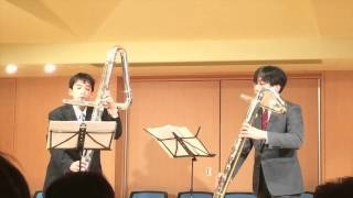 [Rossini] Duet for Cello and Double Bass 1st & 3rd Mov. (Contrabass Flute & Bass Flute in F)