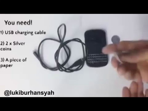 Charging Handphone Without Electricity