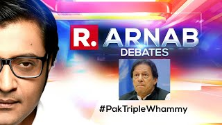 Pakistan Stays In FATF Grey List, India's Diplomatic Clout Prevails   The Debate With Arnab Goswami