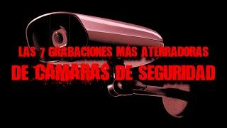 7 grabaciones más aterradoras captadas en cámaras de seguridad | DrossRotzank