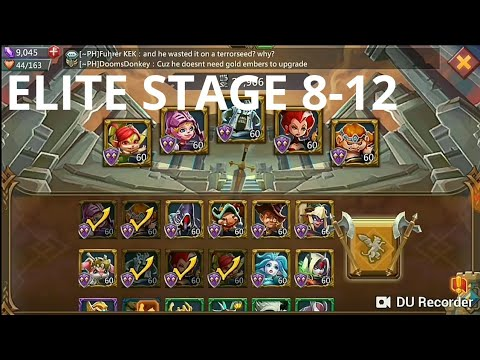 Lords Mobile - Elite Stage 8-12 3*