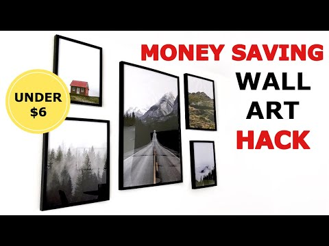 MONEY SAVING HACK: Wall Art Prints | Jessica Melgoza