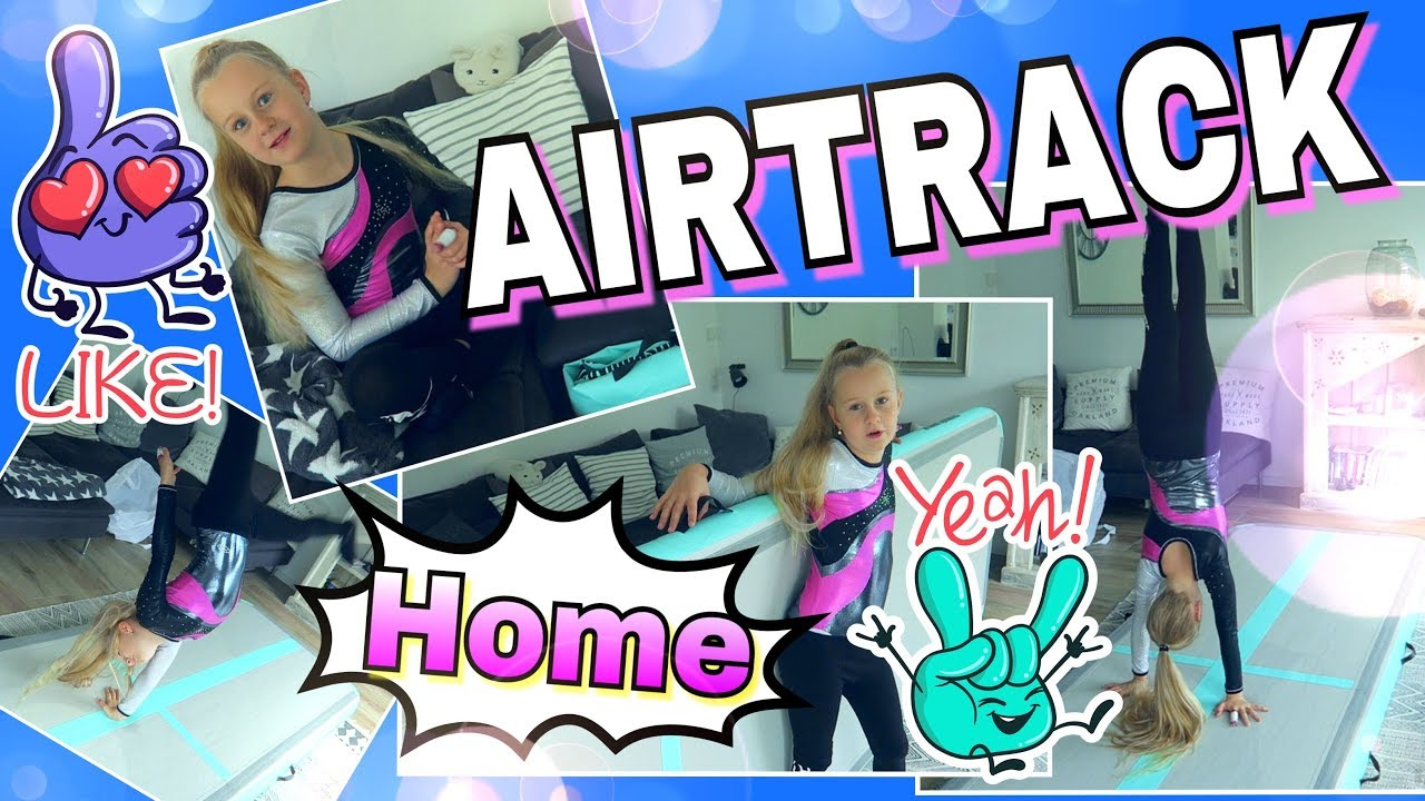 airtrack gymnastik turnmatte f r zuhause review mavie noelle youtube. Black Bedroom Furniture Sets. Home Design Ideas