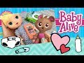 REQUESTED by BabyAlive CutieHeart -- Baby Alive Better Now Bailey Doll Feeding Morning Routine