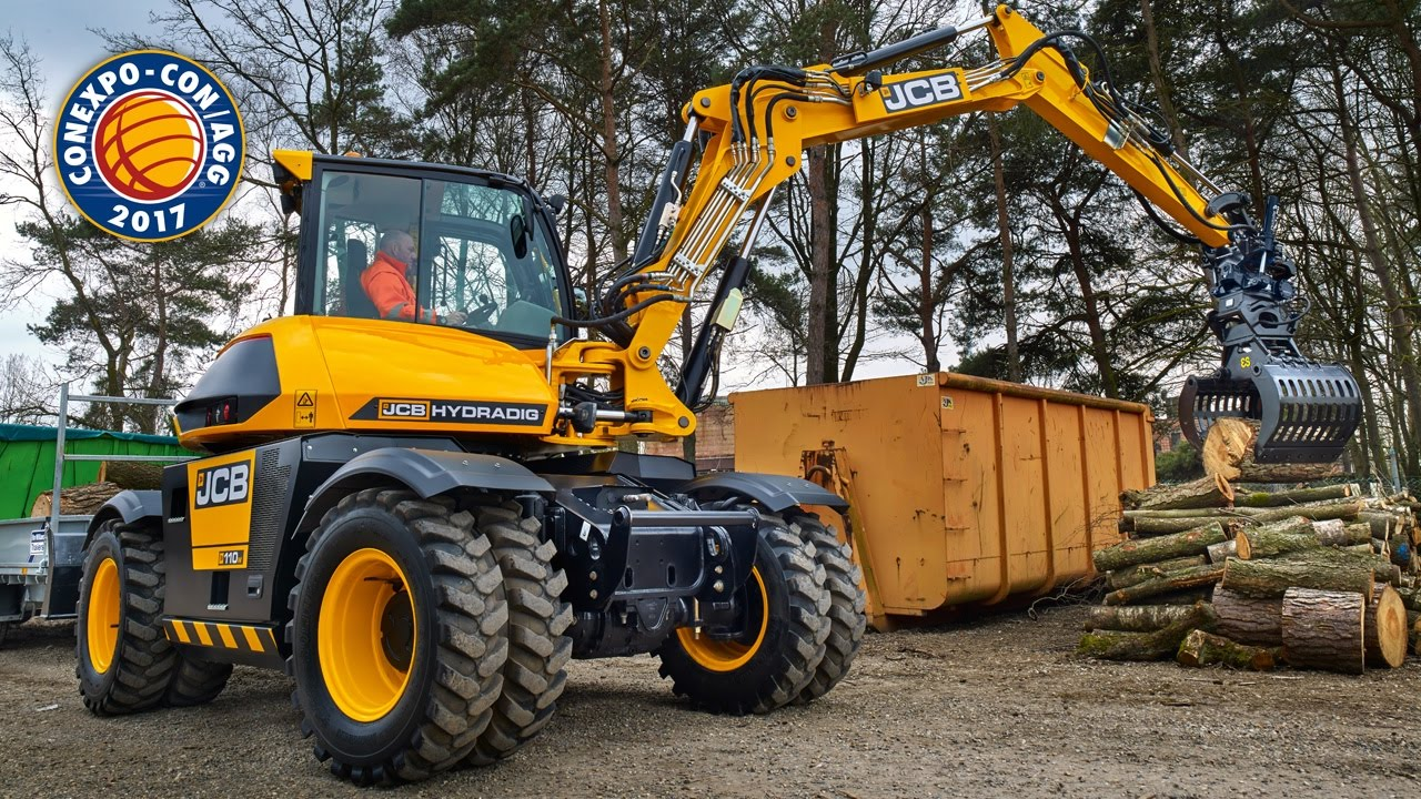 JCB Hydradig at Conexpo 2017