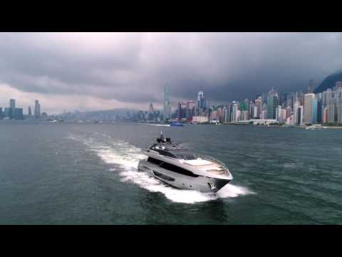 Luxury Yacht - Riva 100' Corsaro in Hong Kong for its world première