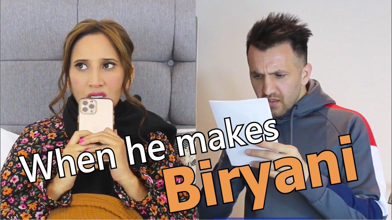 When He Makes Biryani   OZZY RAJA