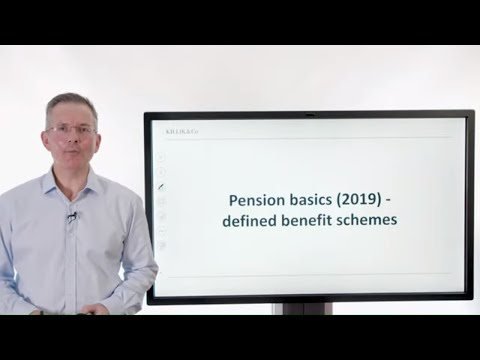 Pension Basics (2019) - Defined Benefit Schemes
