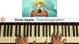 Learn the full piano lesson verbally teaching all sections step by here: https://amosdoll.teachable.com/p/fiona-apple-pure-imagination-full-song-video-l...